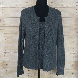 Vintage L&F Mohair Blend Sweater Set Made In Italy